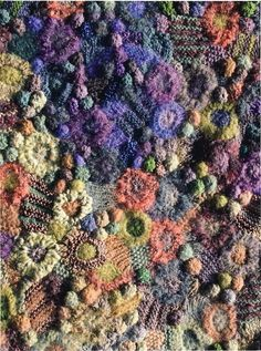 Prudence Mapstone - 'From Midnight To First Light' ...and here's a closeup of the fabric from that cape.  thanks for pinning, Melba :-)