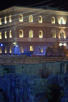 Piazza Sant'Oronzo - L'Anfiteatro - Lecce, Apulia, Italy