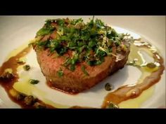 Gordon Ramsay's Pan Roasted Glazed Fillets of Beef with Gremolata