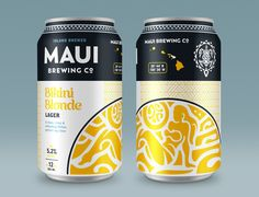 Maui Brewing Company (MBC) recently launched new branding and packaging  designed to make its unique line-up of beers all feel like one, cohesive  family. It's the result of a nearly yearlong collaboration with The Butler  Bros, an Austin-based brand studio, who visited Maui to immerse themselves  in the Maui Brewing Company culture.