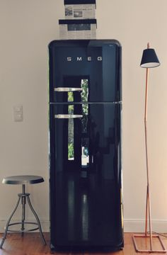 Smeg Fridge , Copper lamp Chines boxes