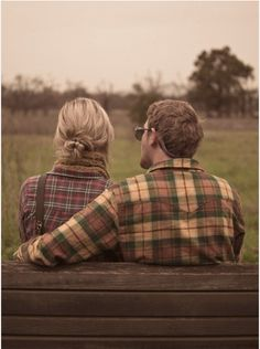 This would be a cute engagement photo. Jonathan and I want to do a flannel thing.