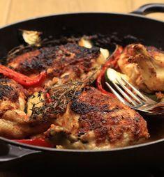 Roast Chicken Piri Piri Piri Piri Recipes, Healthy Baked Chicken, Cooking Recipes, Healthy Recipes, Evening Meals, Roast Chicken, Healthy Baking, A Food, Food Processor Recipes