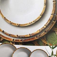 On instagram by milano_presentes #homedesign #contratahotel (o) http://ift.tt/1Sklsv6 dia.... Detalhes dessa linha bamboo ... Ótima opção para compor na sua mesa... #gift#home#homedecor#luxo#lindo#listadecasamento#listadepresentes#presentes#temnaloja#tendencia#mesaposta#decora#suacasapede#summer#instahome#instadecor#interiordesign#itdecor