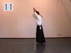 Aikido instruction; 31 jo kata - YouTube