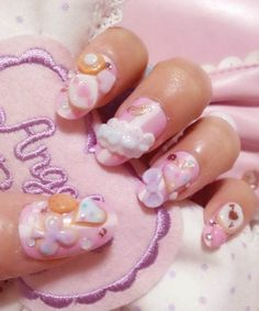 ✿★ KAWAII NAILS ✝☯★☮