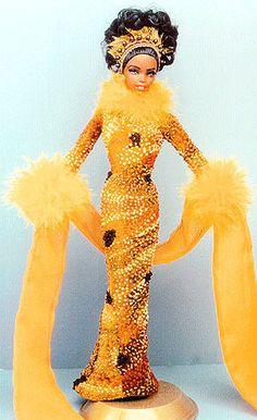 OOAK Barbie NiniMomo's Miss Nigeria 2011