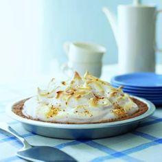 Graham Cracker Pie Recipe   MyRecipes.com