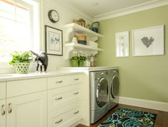 Color is BM Guilford Green. Where to Start When You Have a Blank Slate | Maria Killam | True Colour Expert | Decorator