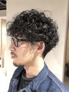 Middle Hair, Curly Hair Cuts, Grunge Hair, Perm, Haircuts For Men, Cool Hairstyles, Short Hair Styles, Hair Beauty, Street Style