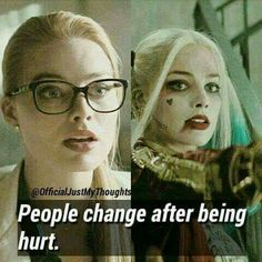 Harley Quinn, the queen of crime. Mood Quotes, True Quotes, Joker Y Harley Quinn, Harely Quinn, Dc Memes, Joker Quotes, Cartoon Quotes, Margot Robbie, It Hurts