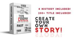 Typography Constructor – Videohive - http://www.imafiashare.com/codecanyon/typography-constructor-videohive/