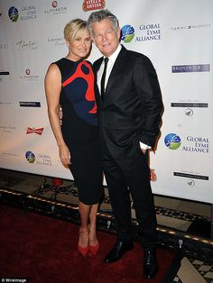 Complicated: An insider claims David Foster thinks his estranged wife Yolanda Foster is exaggerating her illness, pictured together in October in NYC