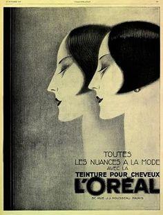 1920s L'Oreal advertisement