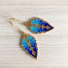 """@hg_handmade_jewelry - Aros """"Aires de invierno"""" hecho con #Deli...   Picdeer"""