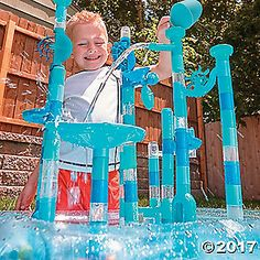 It's a wet and wild marble ride that's sure to blow traditional marble runs—and science toys for kids—out of the water. From vertical ...