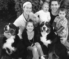 Pittsburgh Penguins: Pascal Dupuis and his family with their dogs, Meo and Maggy, and their cat, Symba Pittsburgh City, Pittsburgh Sports, Pittsburgh Penguins Hockey, Pens Hockey, Hockey Stuff, Hockey Baby, Ice Hockey, Pascal Dupuis, Lets Go Pens