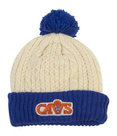 Sporting Goods Clever Nba Cleveland Cavaliers Cuffed Pom Knit Hat Cap Beanie New See Description