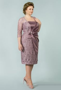 Mother of the Bride Dresses and Outfits Stylish Dress Designs, Stylish Dresses, Formal Dresses, Bride Dresses, Vestidos Plus Size, Plus Size Dresses, Fall Fashion Outfits, Fashion Dresses, Mom Dress