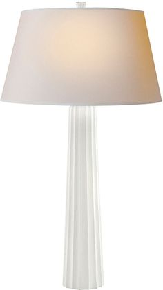 Large Fluted Spire Table Lamp - CHA8906