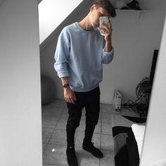 Instagram Boy Outfits, Casual Outfits, Men Casual, Fashion Outfits, Teen Boy Fashion, Fashion Tips For Women, Men Looks, Swagg, Streetwear Fashion