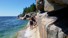 Checking out the Pictographs at Lake Superior PP Lake Superior, Ontario, Canada, Twitter, Beach, Outdoor, Image, Outdoors, Seaside