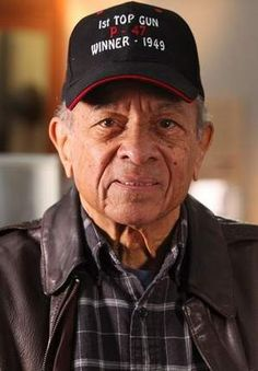Tuskegee Airman Harry Stewart, 87, of Bloomfield, sits in the Tuskegee Airmen National Museum in Detroit, earlier this year.