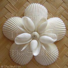 Seashell Snowflake Christmas Ornament Star Shell Flower Tropical Beach Nautical Tropical Beach Shore Gift Seaside