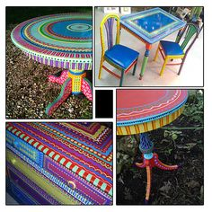 Hand Painted Furniture- Wild and Crazy Custom Made to order