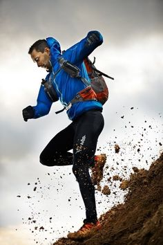 This is an interesting photo that I'd label ad travel since trail running isn't very wide spread or accessible to others. I love the crispness of this shot as well as how nicely the colors pop and the dirt being kicked up. Very nice piece.