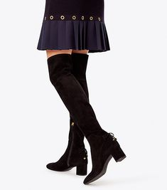2d32392b6933 Visit Tory Burch to shop for Laila Suede Over-the-knee Boot and more Womens  View All. Find designer shoes