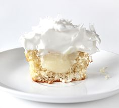 Coconut Cream Pie Cupcakes. I'm making these for myself on my b-day!