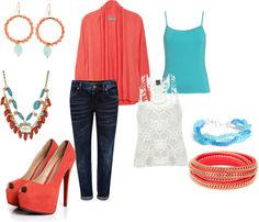 """""""Hottest Colors NOW"""" by shandi-guthrie on Polyvore"""