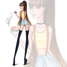 "4,213 Likes, 140 Comments - Lyubomir Dochev (@ldochev) on Instagram: ""The Pokemon Girl @arianagrande illustration by Ldochev(Lyubomir Dochev) Share your opinion and tag…"""