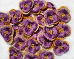 🌺 Flor de Crochê Receita Amor - Perfeito Clássico Pétalas -   /  🌺 Crocheted Flower Recipe Love - Perfect Washcloth Petals -Vintage -