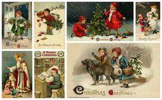 Magiczne Moonlight fotografii: Maj Twoje Boże Narodzenie będzie pełen radości! Darmowe kolaże zdjęć dla Ciebie!