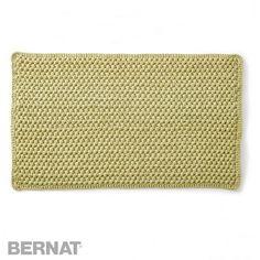 Bubble Bathmat | Croceht | Free Pattern | Yarnspirations | Bernat Maker Home Dec Yarn