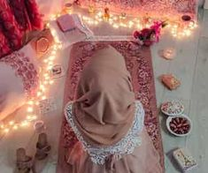 Find images and videos about girl, pink and sweet on We Heart It - the app to get lost in what you love. Photo Ramadan, Decoraciones Ramadan, Hijab Hipster, Hijab Mode, Mode Turban, Hijab Dpz, Dps For Girls, Girly M, Stylish Hijab