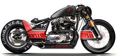 Egyedi Harley–Davidsonok, Ferraritól a Holdkompig