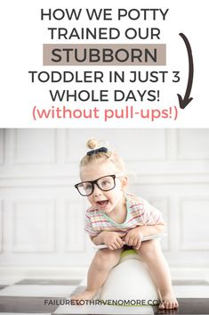 Learn how we potty trained our very stubborn three year old in just one long three day weekend! No pull-ups! Toddler Snacks, Toddler Gifts, Toddler Activities, Toddler Potty, Parenting Toddlers, Parenting Hacks, Potty Training Boys, Training Tips, Every Mom Needs