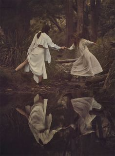 White dresses, VOGUE AUSTRALIA
