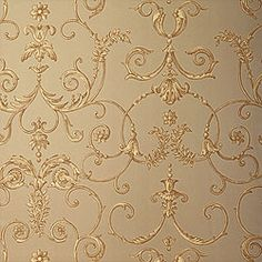 Shivonne #wallpaper in #metallic #brown from the Residence collection. #Thibaut