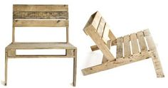 think likely: Pallet chair for your cell phone!
