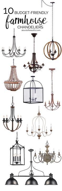 84 Best Farmhouse Chandelier Images In 2019 Diy Ideas For Home