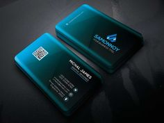Corporate Business Cards by samonnoy on Creative Market - Templates Engine