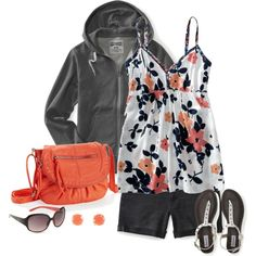 """Orange Summer"" by kp802 on Polyvore"