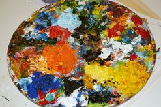 Painting Palette Our Love, Are You Happy, Palette, Make It Yourself, Colour, Painting, Art, Color, Art Background