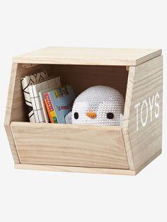 Cube de rangement Toys bois - Fini le désordre avec ce cube de rangement  qui accueillera d7206665818