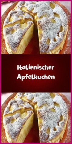 Italienischer Apfelkuchen Ingredients for 8 servings 5 ​​sour apple 100 g liquid butter 2 medium sized eggs 250 g sugar 1 pack vanilla sugar 100 g wheat … Pasta Recipes, Crockpot Recipes, Cake Recipes, Apple Pie Ingredients, Vanilla Sugar, Brownies, Bakery, Easy Meals, Cake