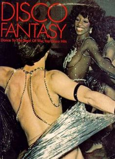 Disco Fantasy. Yes, I'm sure my disco fantasy would involve this guy with the body necklace.
